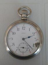 Antique Regina Silveroid Pocket Watch, G.F.MAYBEE Madoc Ont