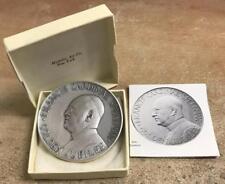1966 Cardinal Spellman Pure .999 Silver Table Medal w/ Box - 4 oz. MACO