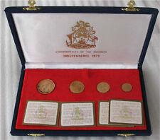 1973-75 Bahamas Gold Coin $200 $150 $100 $50 Dollars Coa Box Proof 1260 pieces