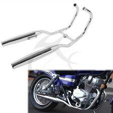 Chrome Two side Exhaust Muffler for Honda CMX250 Rebel 250 1985-2014 96 06 08 12
