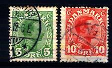DENMARK - DANIMARCA - 1913-1915 - Re Cristiano X