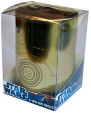 STAR WARS - C-3PO Retro Metal Can Cooler / Stubby Holder (Ikon) #NEW