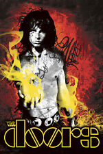 "Jim Morrison-The Doors- 24""x36"" Canvas Art Print"
