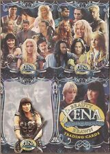 XENA  BEAUTY & BRAWN RA 2002 FULL 72  CARD BASE SET w/ PACK WRAP LUCY LAWLESS