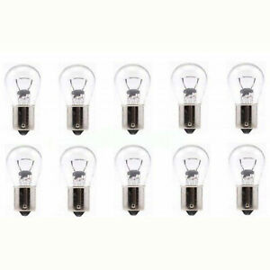 #1156 12 Volt Stock Park Parking Back Up Tail Light Signal Lamps Bulbs Box Of 10