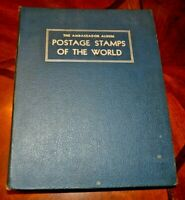 CatalinaStamps: Ambassador Stamp Album, H.E. Harris 1958, 1952 Stamps, Lot D131