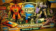 TRANSFORMERS - Reveal the Shield : BATTLE IN SPACE - Rodimus & Cyclonus *MISB*