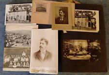 1920s DAY FAMILY SNAPSHOT PHOTO ALBUM DENNISON UNIV BELLVILLE & GRANVILLE OH