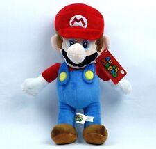 "NEW 16"" Super Mario Bros Mario Plush With Tags"