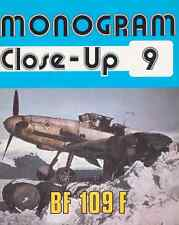 AERONAUTICA AIRCRAFT Monogram Close Up 9 Messerschmitt Bf109 F - DVD