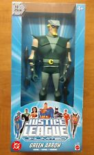 "Justice League Unlimited Green Arrow 10"" Inch Action Figure New Sealed Mattel"