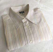 D&G DOLCE & GABBANA  MENS BUTTON DOWN FITTED DRESS SHIRT SIZE 52/38