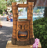 Tiki Gods of Fire and Water Stone Bonded Resin Garden Fountain by Design Toscano
