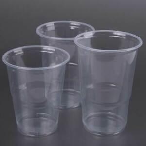 Bierbecher Einweg Ausschankbecher Trinkbecher Plastikbecher klar 100 500 1000 St