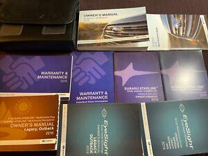 2016 Subaru Legacy / Outback Owners Manual