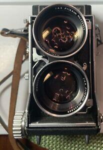 Mamiyaflex Vintage Camera With Sekor 135mm f/4.5 Lens