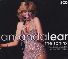 AMANDA LEAR - BEST OF 3 CD NEW+