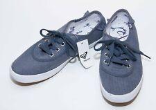 Roxy blue denim ladies sneakers trainers shoes flats UK 7 US 10 EU 41 NEW