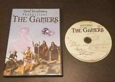 The Gamers (DVD, Original 2002 Printing) Dead Gentlemen gaming comedy film RARE