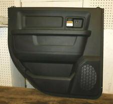 2013 14 15 16 17 18 Dodge Ram 1500/2500/3500 Driver Rear Door Panel Black OEM