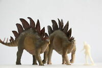 Nanmu 1/35 Stegosaurus Pike Figure Stegosauridae Dinosaur Collector Animal Toy
