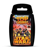 Top Trumps - Star Wars Rebels - Quartett Kartenspiel Spiel