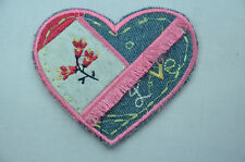 Love hearts sewing appliques for sale ebay