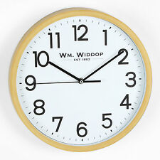 Widdop Modern Round Wall Clock with Arabic dial