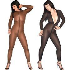 Brillante Trasparente Tuta Intera S (36-38) Body Nylon Overall