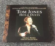 TOM JONES HITS AND DUETS 2 CD DELUXE EDITION WITH 20 PAGE BOOKLET