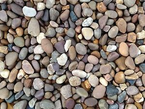 20 Ton - Pea Gravel Pebbles 10mm & 20mm - Loose £30 /ton