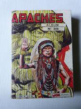 Album relié APACHE n° 35 ( comporte les numéros 100 101 102 ) de 1985