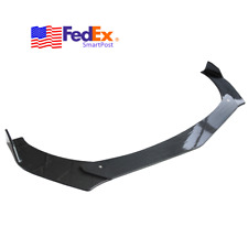 3x Car Front Bumper Lip Chin Spoiler Splitter Body Kit Universal Carbon Look Usa (Fits: Honda)