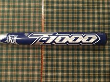 USED 2012 Louisville Slugger Bat TPS Z-1000 SB12ZAB 34/27 BALANCED ASA/USSSA HOT