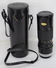 Canon Tele Photo Zoom Lens FD 100-200mm 1:5.6 w/Case & Caps