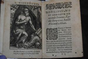 Hieronymus - Epistolae selectae, & in libros tres distributae - 1613
