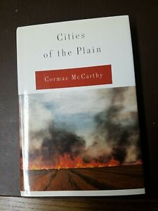 Cities of the Plain - Cormac McCarthy - First Edition Hardcover - 1998 Like New