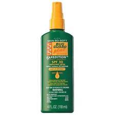Avon Skin So Soft Bug Guard Plus Spray Expedition Insect Repellant SPF30 4 fl oz