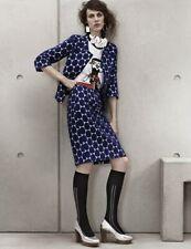 MARNI H&M blue spotted jacket size 36 US 6 UK 10