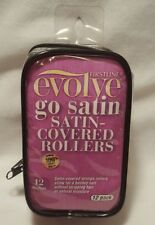 Women Firstline Evolve Go Satin Sponge Covered Rollers 12 Count Medium 1 Inch