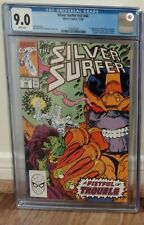 silver surfer 44 cgc 9.0 white pages