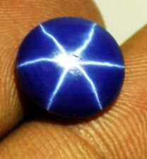 4.30 Cts Certified 100% Natural 6 Rays Amazing Blue Star Sapphire Round Gemstone