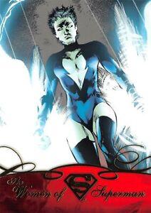 DC Comics Superman the Legend WOMEN Trading Card Insert WOS-03 / LIVEWIRE