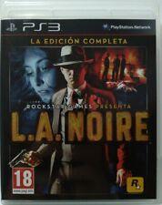L. A. Noire. La Edición Completa. Ps3. Fisico. Pal España