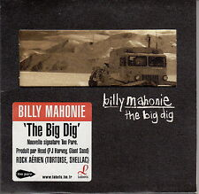 Billy Mahonie CD The Big Dig - England (EX+/EX+)