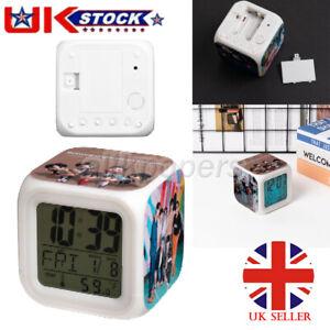 BTS Bangtan Boys Alarm Clock LED Color Changer Night light Home Christmas Gift