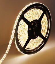 ^ P € 5M Blanco Cálido 300 Led Tira Flexible 5050 de las tiras de luz de iluminación