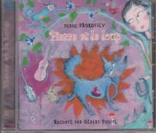 CD AUDIO PIERRE ET LE LOUP raconté par Gérard philippe PROKOFIEV
