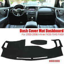 Dash Cover Dashmat Dashboard Mat Pad Anti Sun For 03-08 Infiniti Fx35 Fx45 Fx50