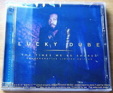 LUCKY DUBE The Times We've Shared 2CD SOUTH AFRICA Cat# CDLUCKY2017